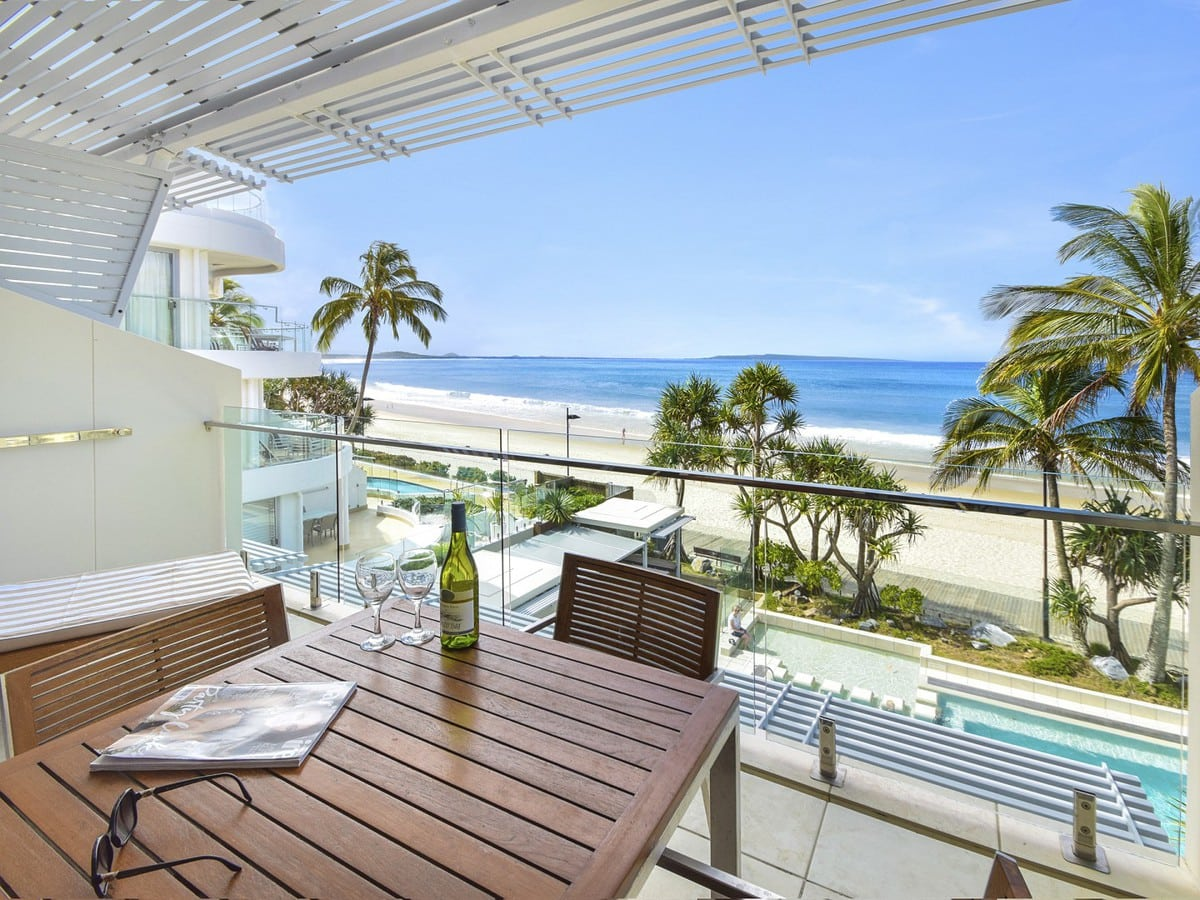 Fairshore Noosa   Apartment 30 Balcony ...