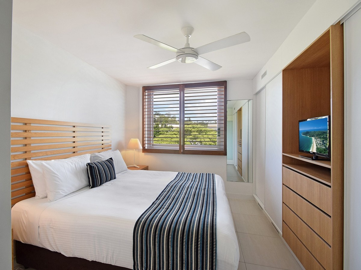 Fairshore Noosa 36 - Master Bedroom